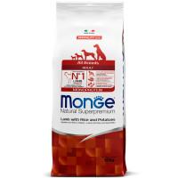 Сухой корм для собак Monge Speciality line ягненок с рисом и картофелем 12 кг