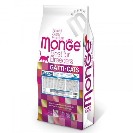 Сухой корм для кошек Monge Natural Superpremium PFB Urinary для профилактики МКБ, с курицей 10 кг