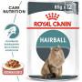 Влажный корм для кошек Royal Canin Hairball Care для вывода шерсти (кусочки в соусе) 85 г