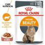 Влажный корм для кошек Royal Canin Intense Beauty Care мясное ассорти, рыбное ассорти (кусочки в соусе) 85 г