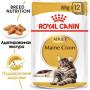 Влажный корм для Мейн-кунов Royal Canin Maine Coon для взрослых кошек от 15 месяцев (кусочки в соусе) 85 г