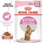 Влажный корм для стерилизованных котят Royal Canin Sterilised Kitten в возрасте от 6 до 12 месяцев, кусочки в соусе 85 г