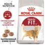 Сухой корм для кошек, имеющих доступ на улицу Royal Canin Fit 32 4 кг