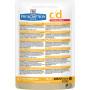 Влажный диетический корм для кошек Hill's Prescription Diet Urinary Care c/d Urinary Stress профилактика МКБ, с курицей (кусочки в соусе) 85 г