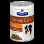 Влажный диетический корм для собак Hill's Prescription Diet Kidney Care k/d при заболеваниях почек, рагу с курицей и овощами 354 г