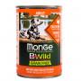 Влажный корм для собак Monge BWild беззерновой, с индейкой с тыквой и с цукини для всех пород 400 г