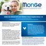 Сухой корм для пожилых собак Monge Daily Line курица (для средних пород) 12 кг