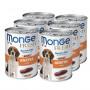 Влажный корм для собак Monge Fresh Сhunks in Loaf мясной рулет с уткой 400 г